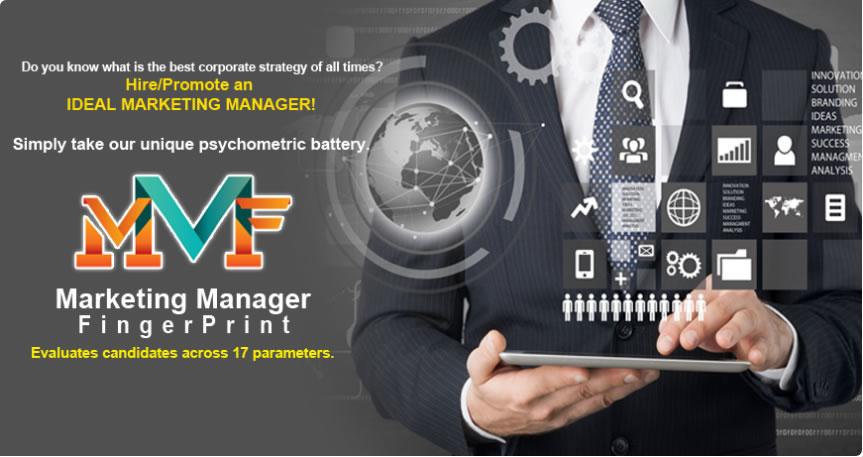 Marketing Manager Fingerprint